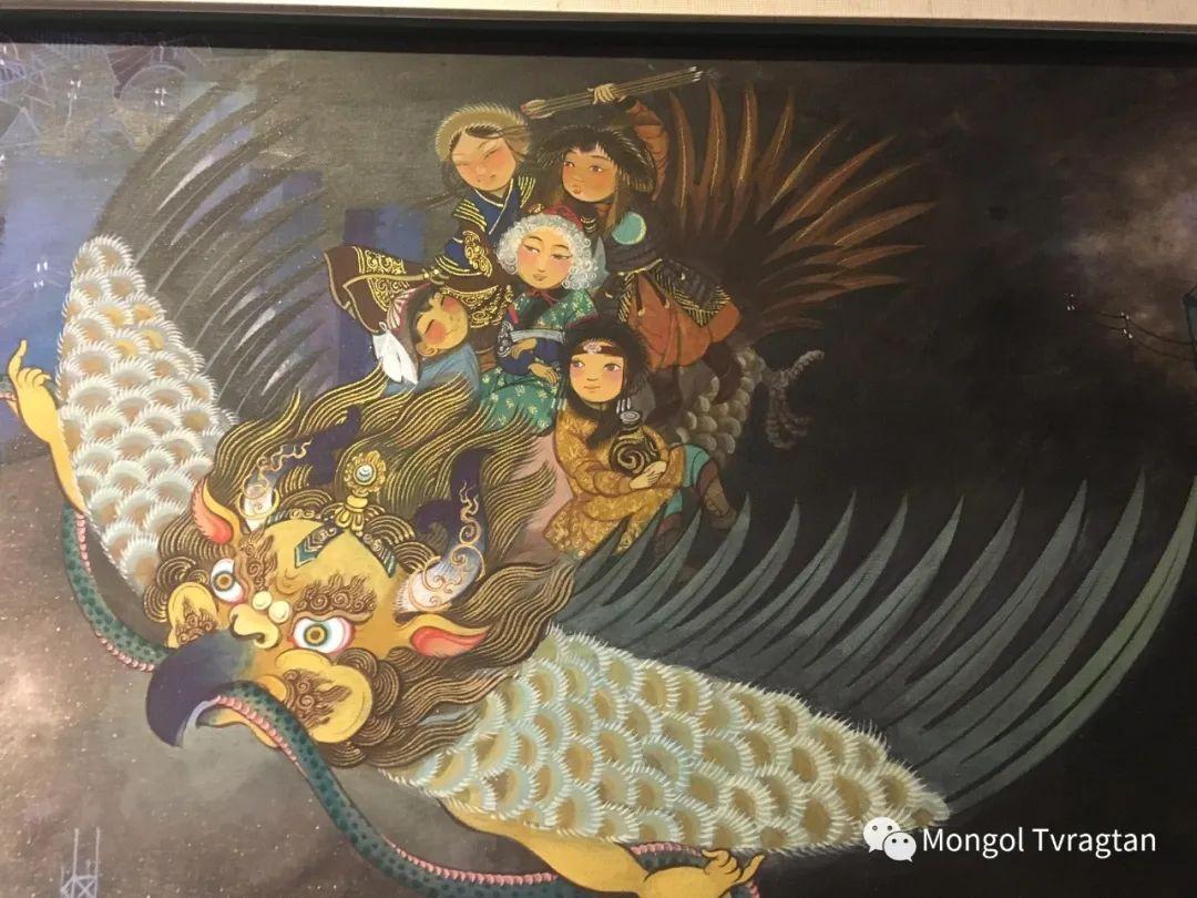 ᠤᠷᠠᠨ ᠵᠢᠷᠤᠭ -  ᠨᠤᠷᠮᠠᠨᠵᠠᠪ 蒙古国画家--努尔曼扎布 第5张 ᠤᠷᠠᠨ ᠵᠢᠷᠤᠭ -  ᠨᠤᠷᠮᠠᠨᠵᠠᠪ 蒙古国画家--努尔曼扎布 蒙古画廊