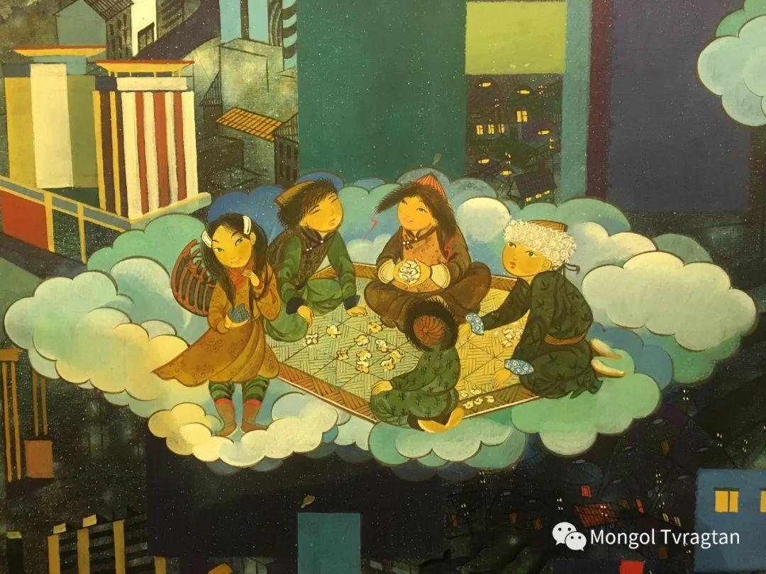 ᠤᠷᠠᠨ ᠵᠢᠷᠤᠭ -  ᠨᠤᠷᠮᠠᠨᠵᠠᠪ 蒙古国画家--努尔曼扎布 第8张 ᠤᠷᠠᠨ ᠵᠢᠷᠤᠭ -  ᠨᠤᠷᠮᠠᠨᠵᠠᠪ 蒙古国画家--努尔曼扎布 蒙古画廊