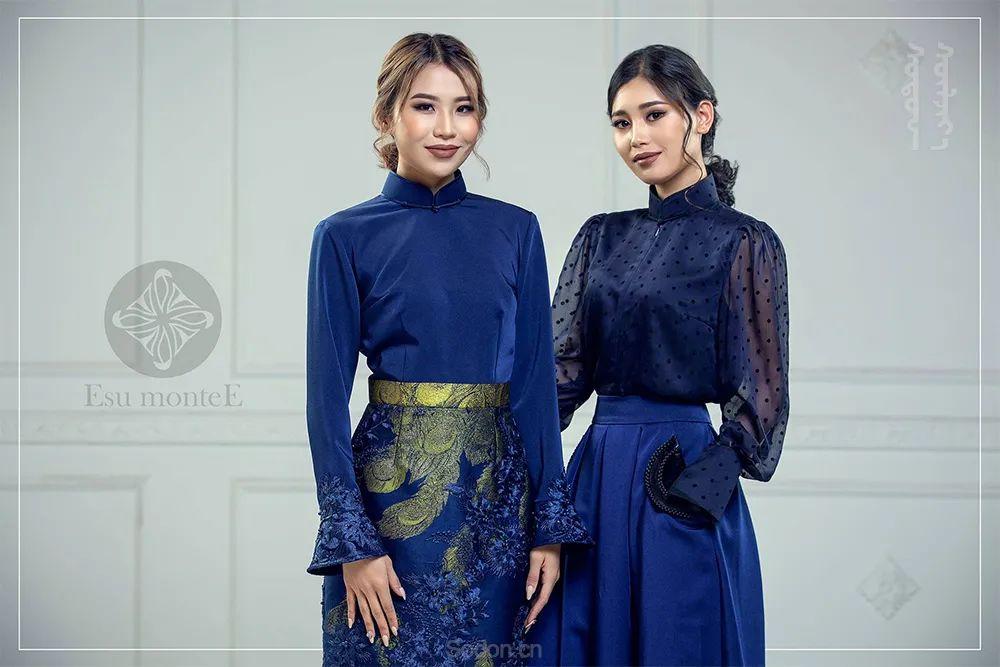 蒙古国 Esu 蒙古时装2020初冬新款首发,优雅奢华!