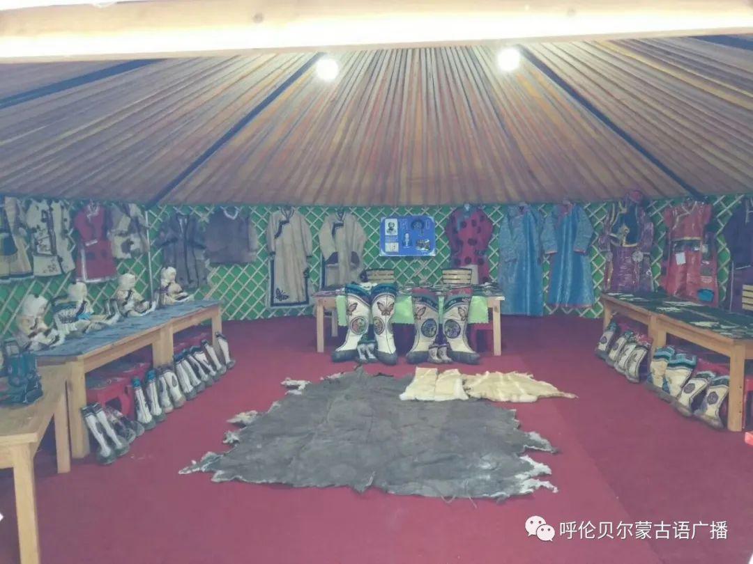 传统陈巴尔虎袍子传承人—敖登高娃 第13张 传统陈巴尔虎袍子传承人—敖登高娃 蒙古服饰