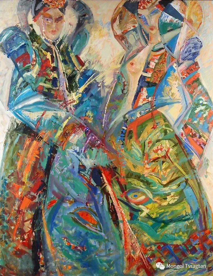 ᠤᠷᠠᠨ ᠵᠢᠷᠤᠭ -ᠪ᠂ ᠰᠠᠷᠨᠠᠢ  萨日乃美术作品 第1张 ᠤᠷᠠᠨ ᠵᠢᠷᠤᠭ -ᠪ᠂ ᠰᠠᠷᠨᠠᠢ  萨日乃美术作品 蒙古画廊