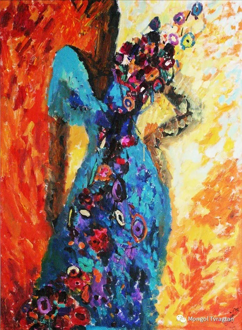 ᠤᠷᠠᠨ ᠵᠢᠷᠤᠭ -ᠪ᠂ ᠰᠠᠷᠨᠠᠢ  萨日乃美术作品 第3张 ᠤᠷᠠᠨ ᠵᠢᠷᠤᠭ -ᠪ᠂ ᠰᠠᠷᠨᠠᠢ  萨日乃美术作品 蒙古画廊