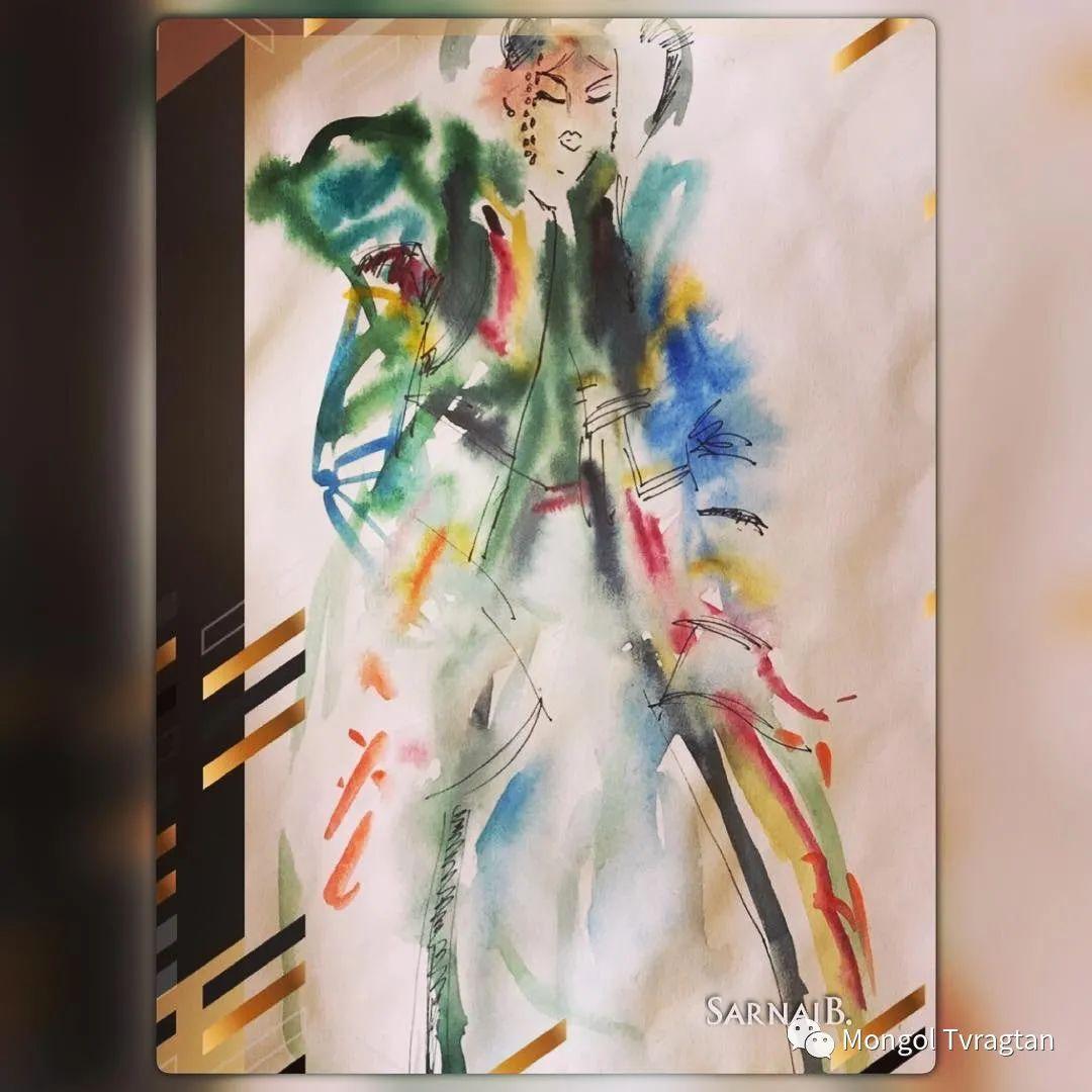 ᠤᠷᠠᠨ ᠵᠢᠷᠤᠭ -ᠪ᠂ ᠰᠠᠷᠨᠠᠢ  萨日乃美术作品 第6张 ᠤᠷᠠᠨ ᠵᠢᠷᠤᠭ -ᠪ᠂ ᠰᠠᠷᠨᠠᠢ  萨日乃美术作品 蒙古画廊