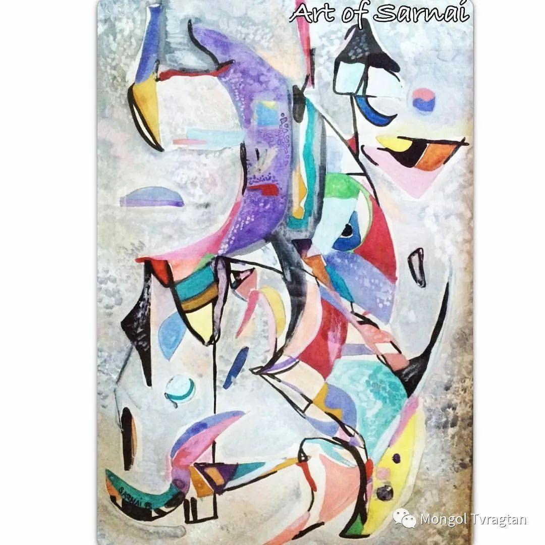 ᠤᠷᠠᠨ ᠵᠢᠷᠤᠭ -ᠪ᠂ ᠰᠠᠷᠨᠠᠢ  萨日乃美术作品 第9张 ᠤᠷᠠᠨ ᠵᠢᠷᠤᠭ -ᠪ᠂ ᠰᠠᠷᠨᠠᠢ  萨日乃美术作品 蒙古画廊