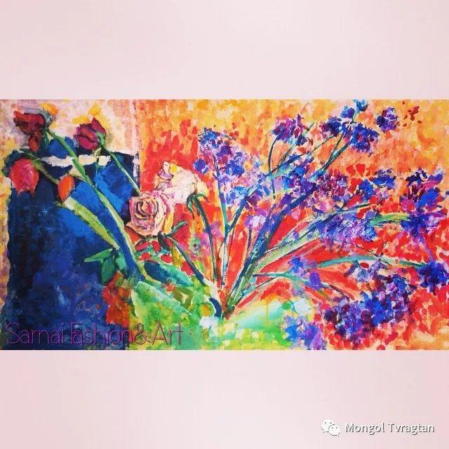 ᠤᠷᠠᠨ ᠵᠢᠷᠤᠭ -ᠪ᠂ ᠰᠠᠷᠨᠠᠢ  萨日乃美术作品 第11张 ᠤᠷᠠᠨ ᠵᠢᠷᠤᠭ -ᠪ᠂ ᠰᠠᠷᠨᠠᠢ  萨日乃美术作品 蒙古画廊