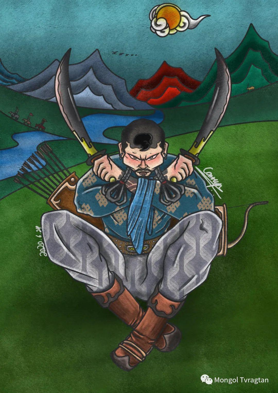 蒙古插画师 散其尔ᠮᠣᠩᠭᠣᠯ ᠵᠢᠷᠤᠭᠠᠴᠢ ᠆᠆᠆ ᠭᠣᠴᠢᠳ ᠣᠨ ᠰᠠᠨᠢᠴᠢᠷ 第1张 蒙古插画师 散其尔ᠮᠣᠩᠭᠣᠯ ᠵᠢᠷᠤᠭᠠᠴᠢ ᠆᠆᠆ ᠭᠣᠴᠢᠳ ᠣᠨ ᠰᠠᠨᠢᠴᠢᠷ 蒙古画廊