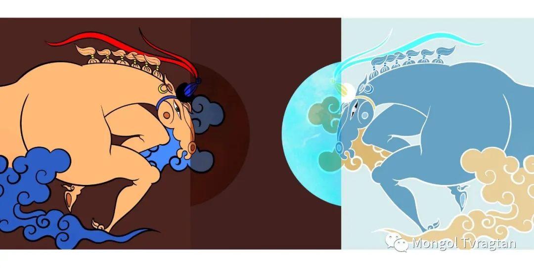 蒙元素插画师  产品设计师--格根塔娜 第9张 蒙元素插画师  产品设计师--格根塔娜 蒙古画廊