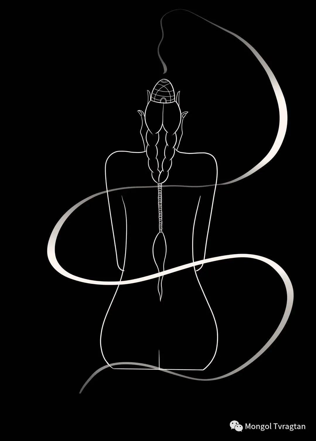 蒙元素插画师  产品设计师--格根塔娜 第10张 蒙元素插画师  产品设计师--格根塔娜 蒙古画廊