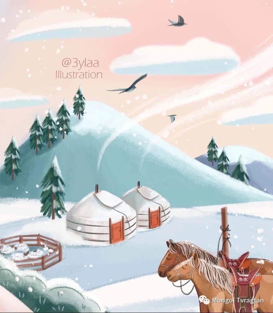 插画师-朱拉 第5张 插画师-朱拉 蒙古画廊
