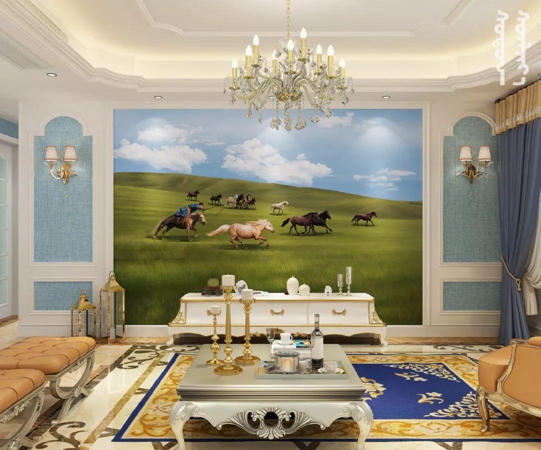 GOLOMT 原创手绘蒙古壁画系列,把草原装进家里 第19张 GOLOMT 原创手绘蒙古壁画系列,把草原装进家里 蒙古工艺