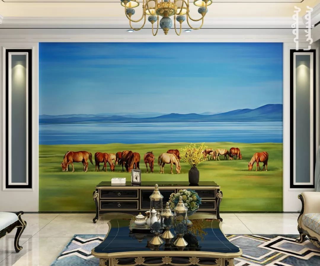 GOLOMT 原创手绘蒙古壁画系列,把草原装进家里 第18张 GOLOMT 原创手绘蒙古壁画系列,把草原装进家里 蒙古工艺