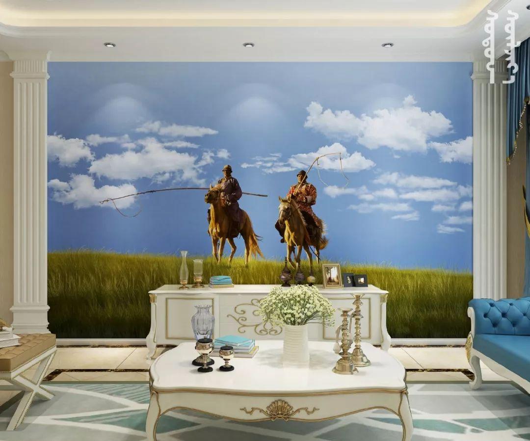 GOLOMT 原创手绘蒙古壁画系列,把草原装进家里 第21张 GOLOMT 原创手绘蒙古壁画系列,把草原装进家里 蒙古工艺