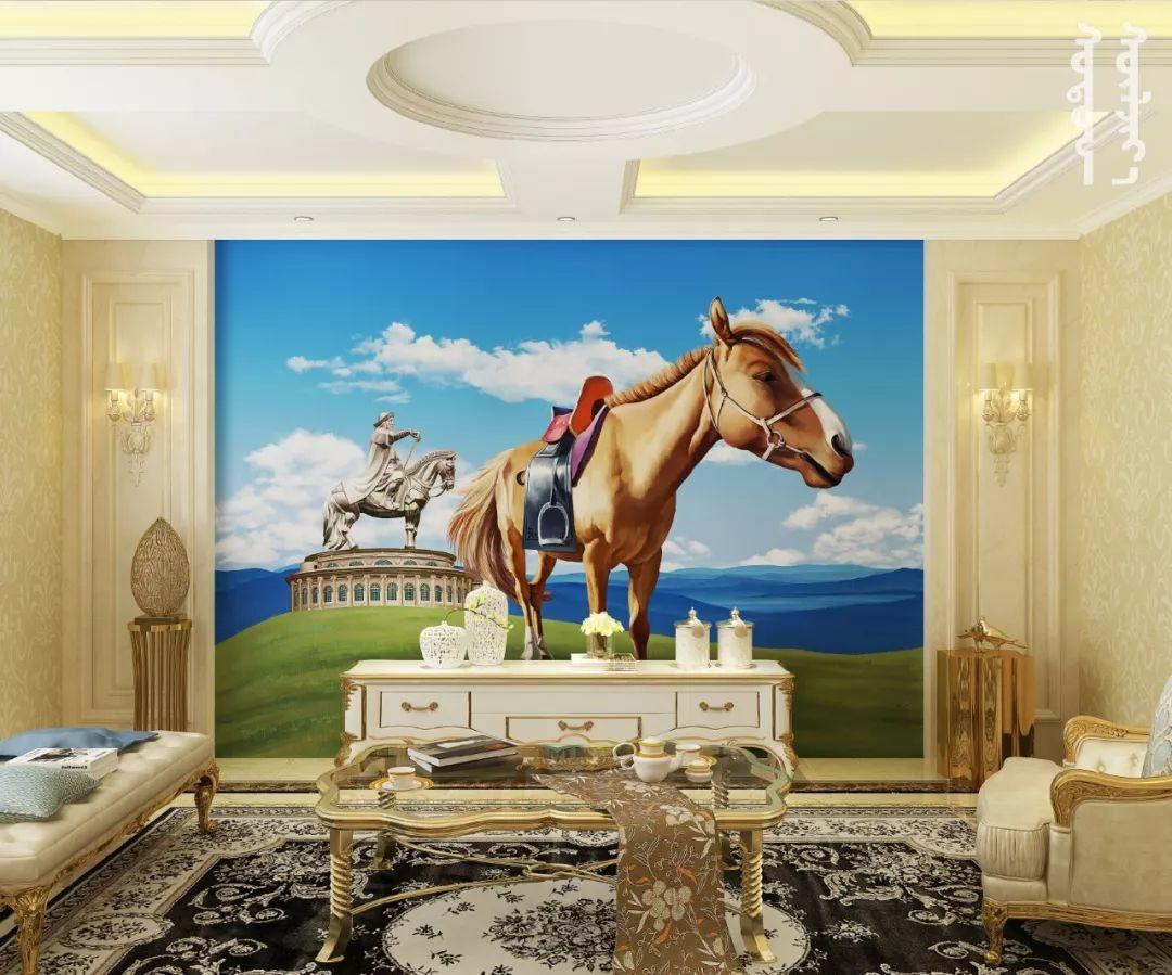 GOLOMT 原创手绘蒙古壁画系列,把草原装进家里 第22张 GOLOMT 原创手绘蒙古壁画系列,把草原装进家里 蒙古工艺