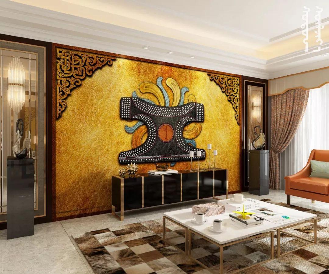 GOLOMT 原创手绘蒙古壁画系列,把草原装进家里 第25张 GOLOMT 原创手绘蒙古壁画系列,把草原装进家里 蒙古工艺