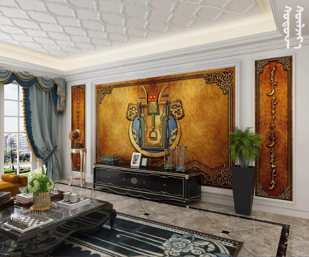 GOLOMT 原创手绘蒙古壁画系列,把草原装进家里 第29张 GOLOMT 原创手绘蒙古壁画系列,把草原装进家里 蒙古工艺