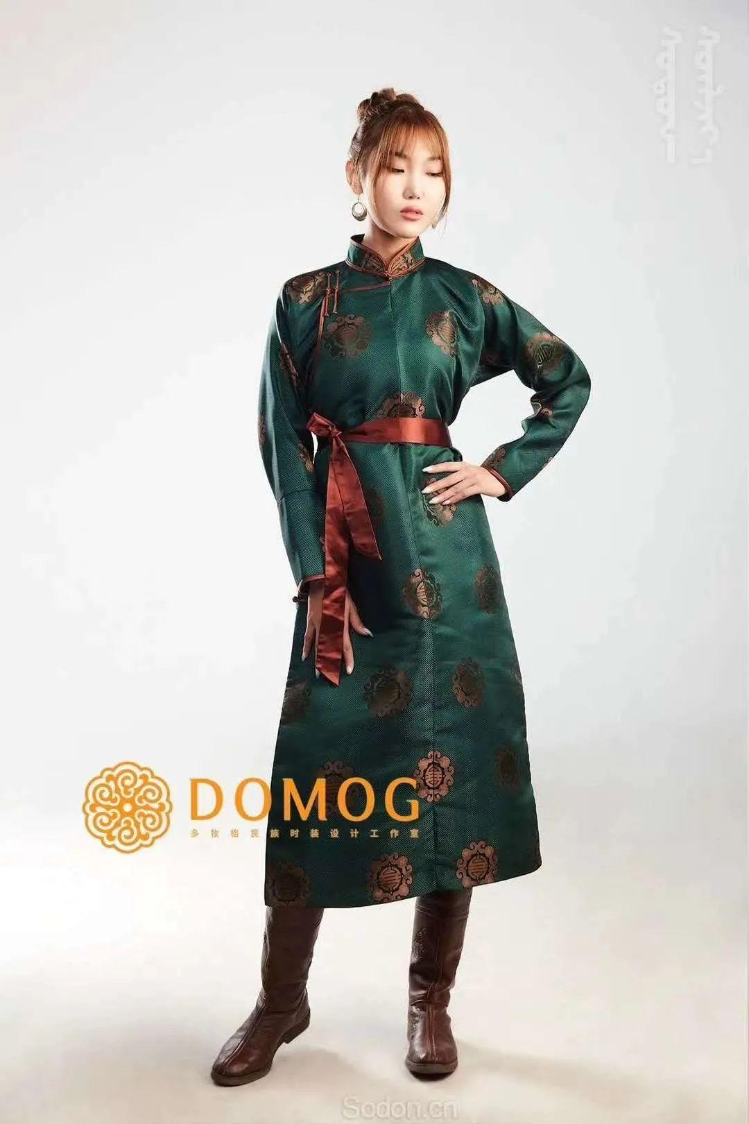 DOMOG 蒙古时装2020新款,民族与时尚的融合 第6张 DOMOG 蒙古时装2020新款,民族与时尚的融合 蒙古服饰
