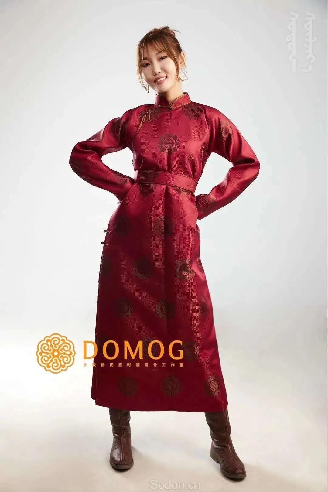 DOMOG 蒙古时装2020新款,民族与时尚的融合 第5张 DOMOG 蒙古时装2020新款,民族与时尚的融合 蒙古服饰