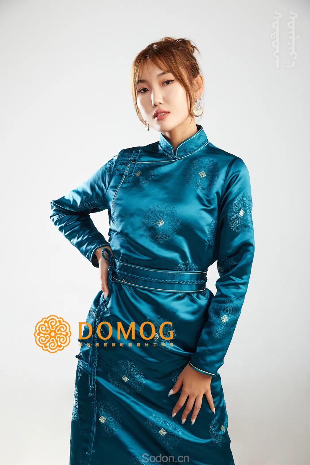DOMOG 蒙古时装2020新款,民族与时尚的融合 第9张 DOMOG 蒙古时装2020新款,民族与时尚的融合 蒙古服饰