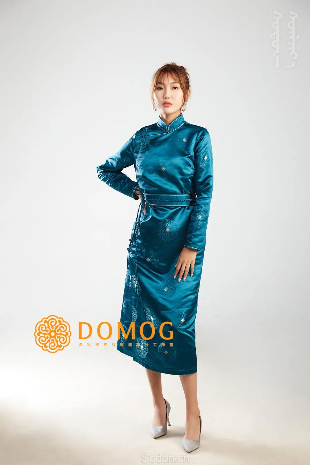 DOMOG 蒙古时装2020新款,民族与时尚的融合 第10张 DOMOG 蒙古时装2020新款,民族与时尚的融合 蒙古服饰