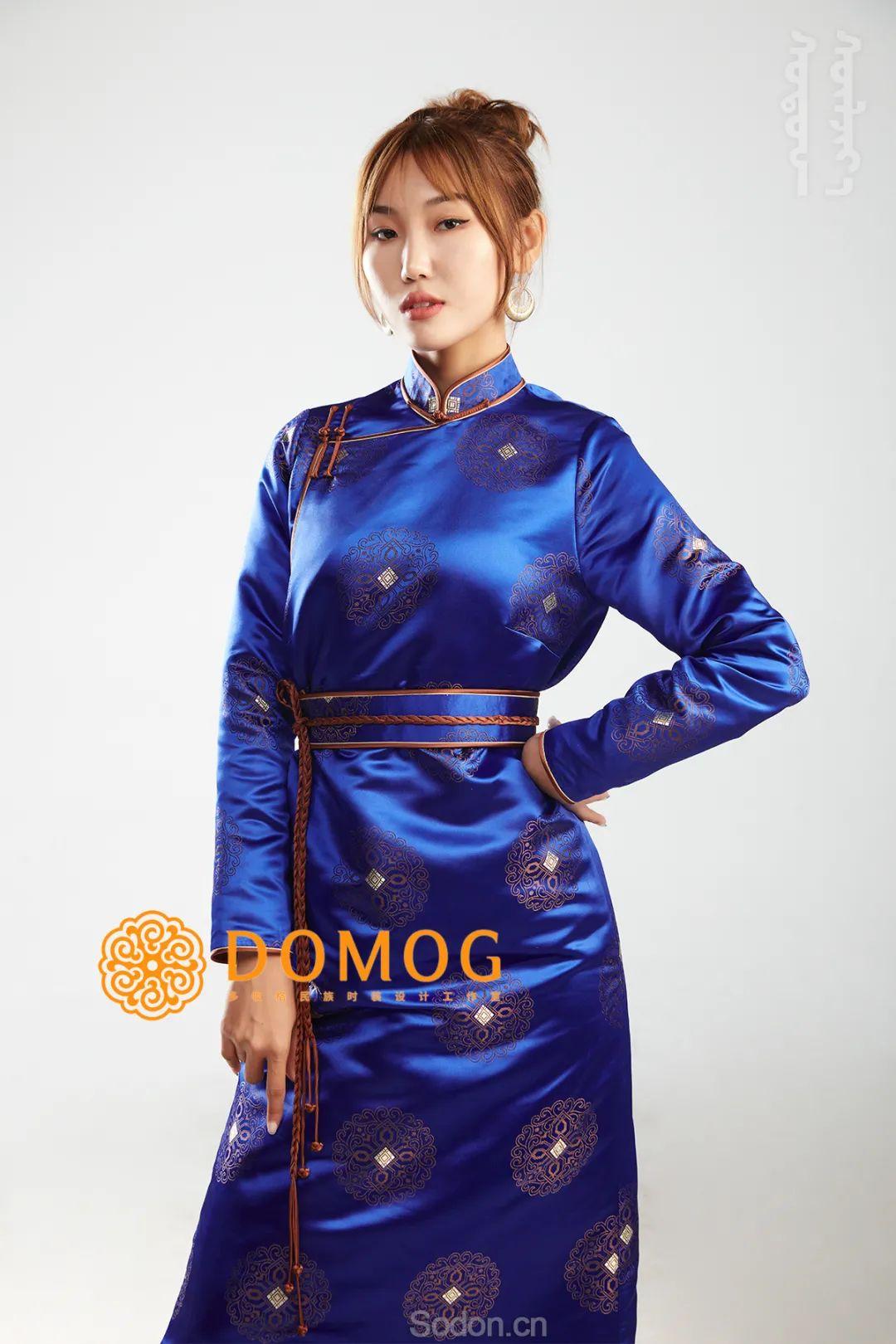 DOMOG 蒙古时装2020新款,民族与时尚的融合 第11张 DOMOG 蒙古时装2020新款,民族与时尚的融合 蒙古服饰