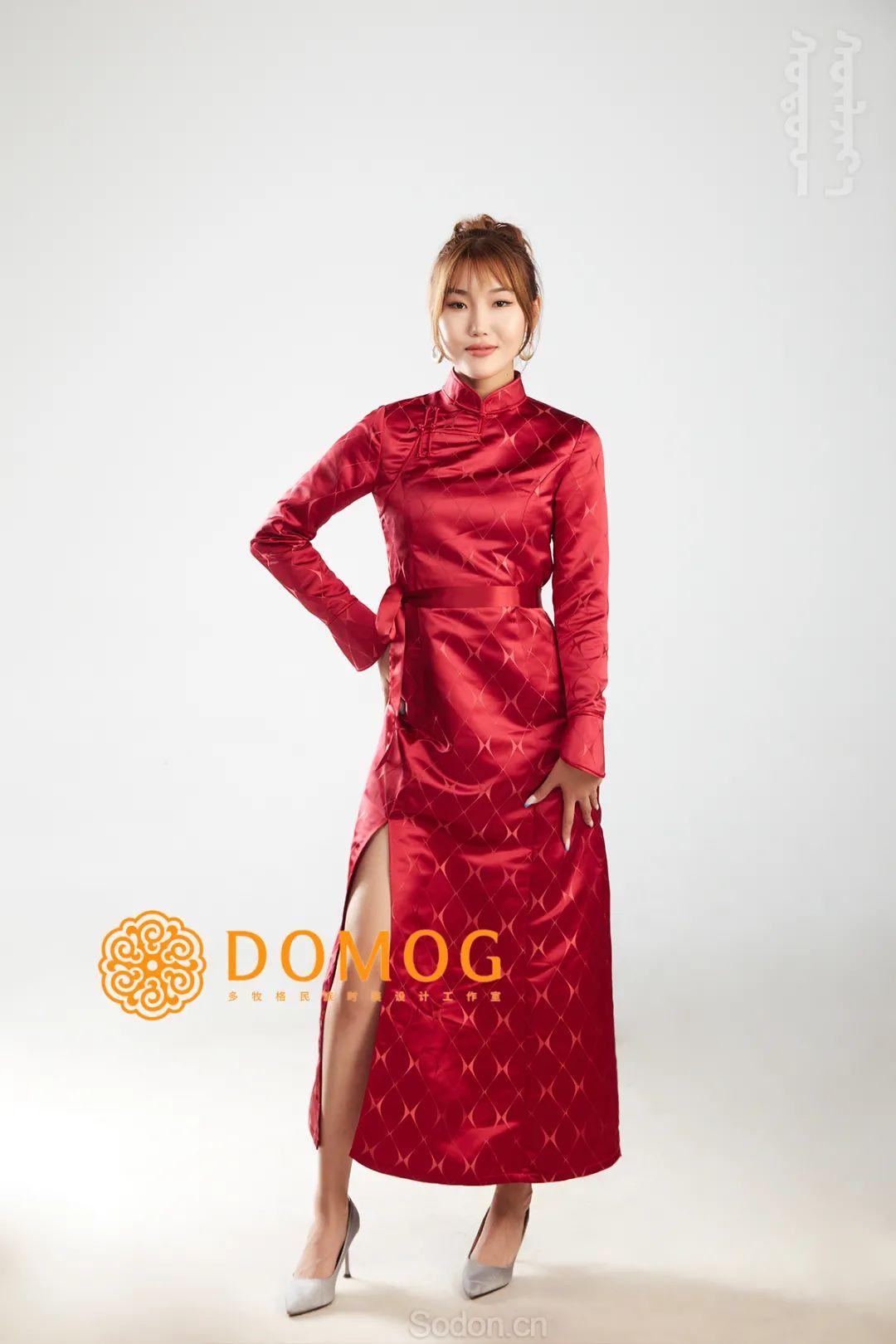 DOMOG 蒙古时装2020新款,民族与时尚的融合 第15张 DOMOG 蒙古时装2020新款,民族与时尚的融合 蒙古服饰