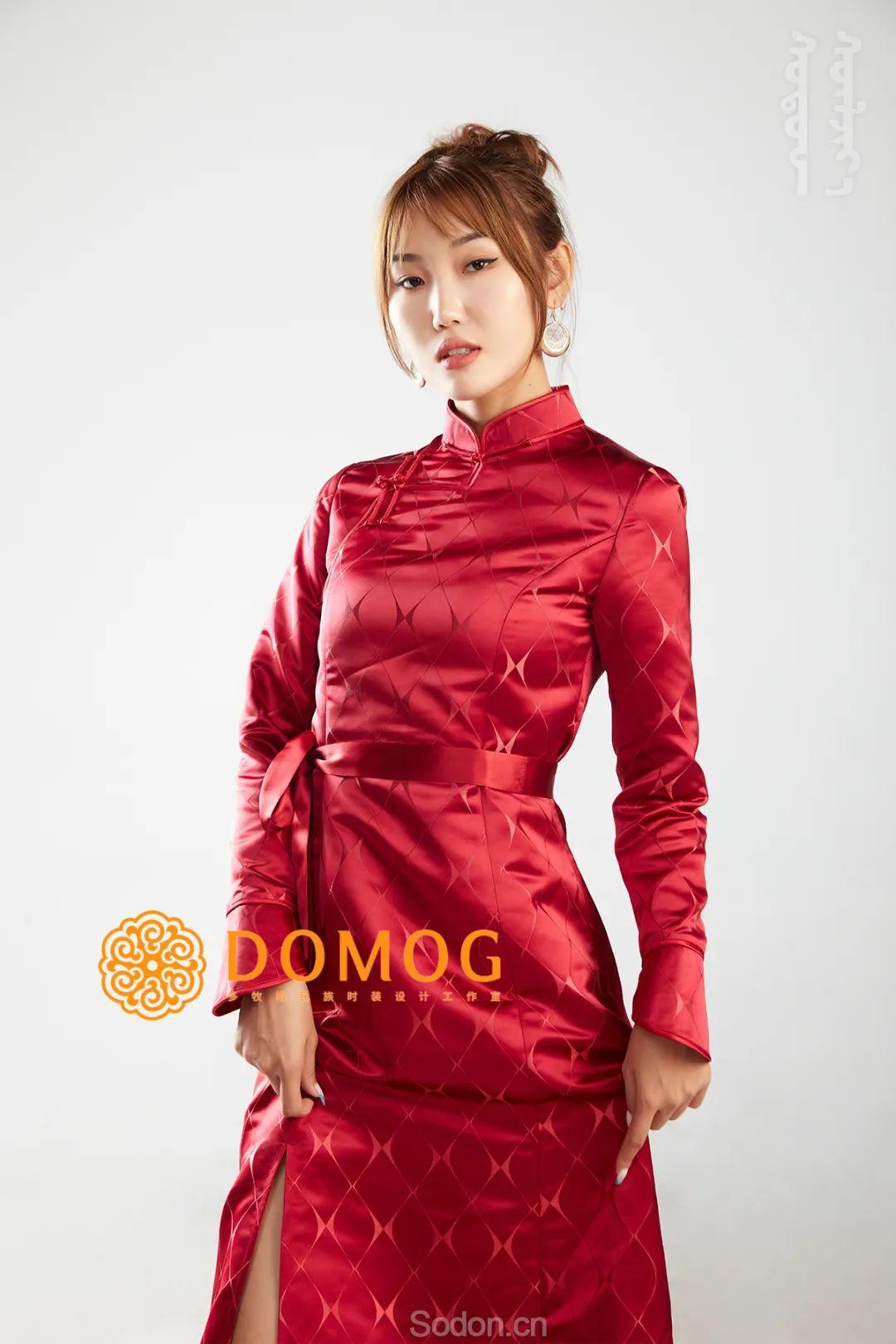 DOMOG 蒙古时装2020新款,民族与时尚的融合 第14张 DOMOG 蒙古时装2020新款,民族与时尚的融合 蒙古服饰