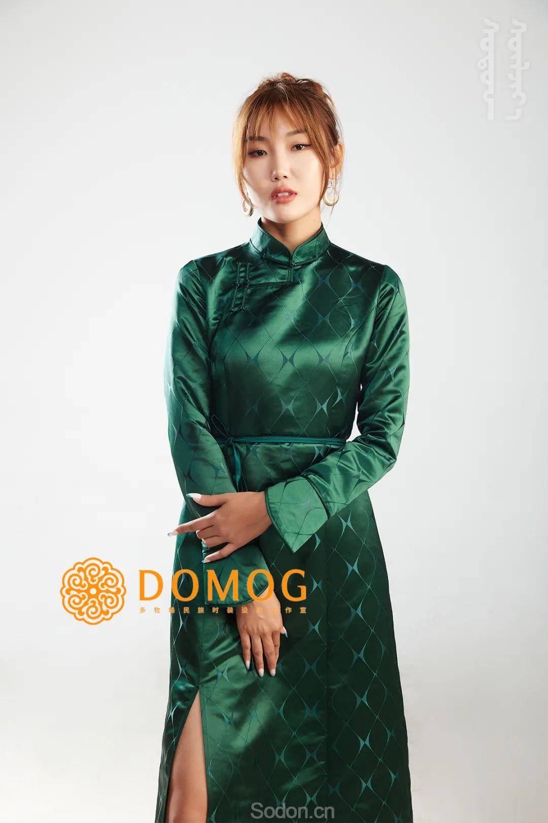 DOMOG 蒙古时装2020新款,民族与时尚的融合 第16张 DOMOG 蒙古时装2020新款,民族与时尚的融合 蒙古服饰