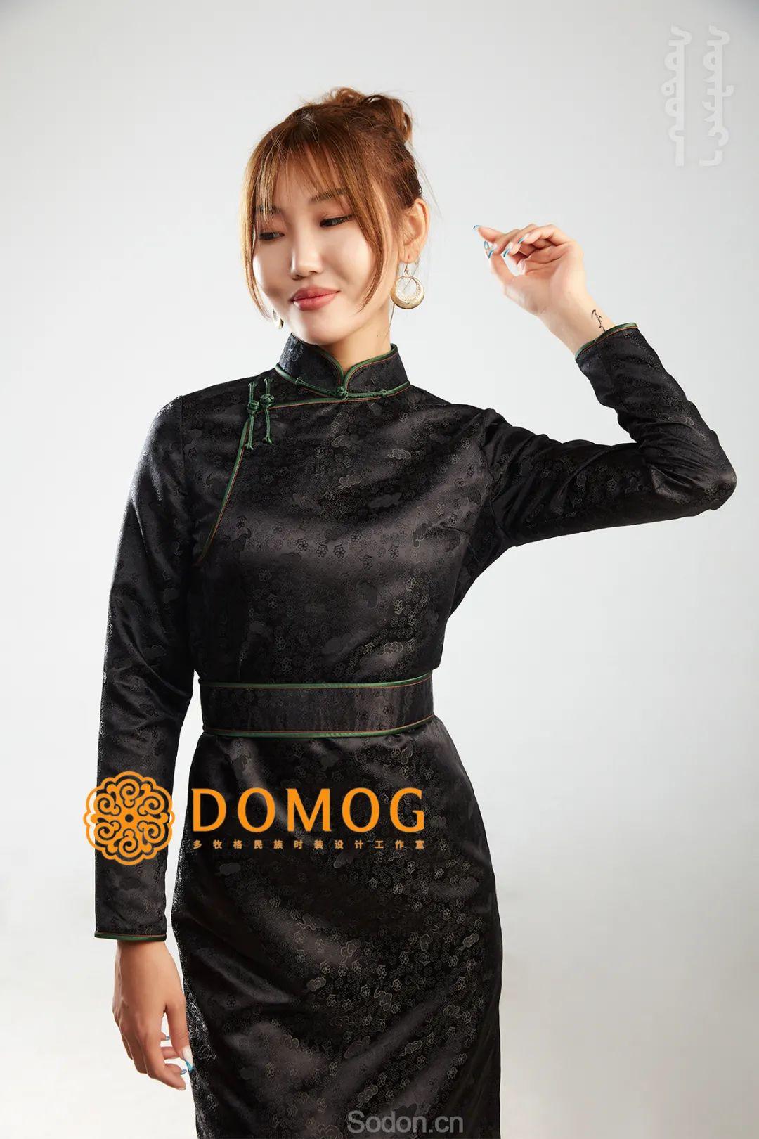 DOMOG 蒙古时装2020新款,民族与时尚的融合 第26张 DOMOG 蒙古时装2020新款,民族与时尚的融合 蒙古服饰