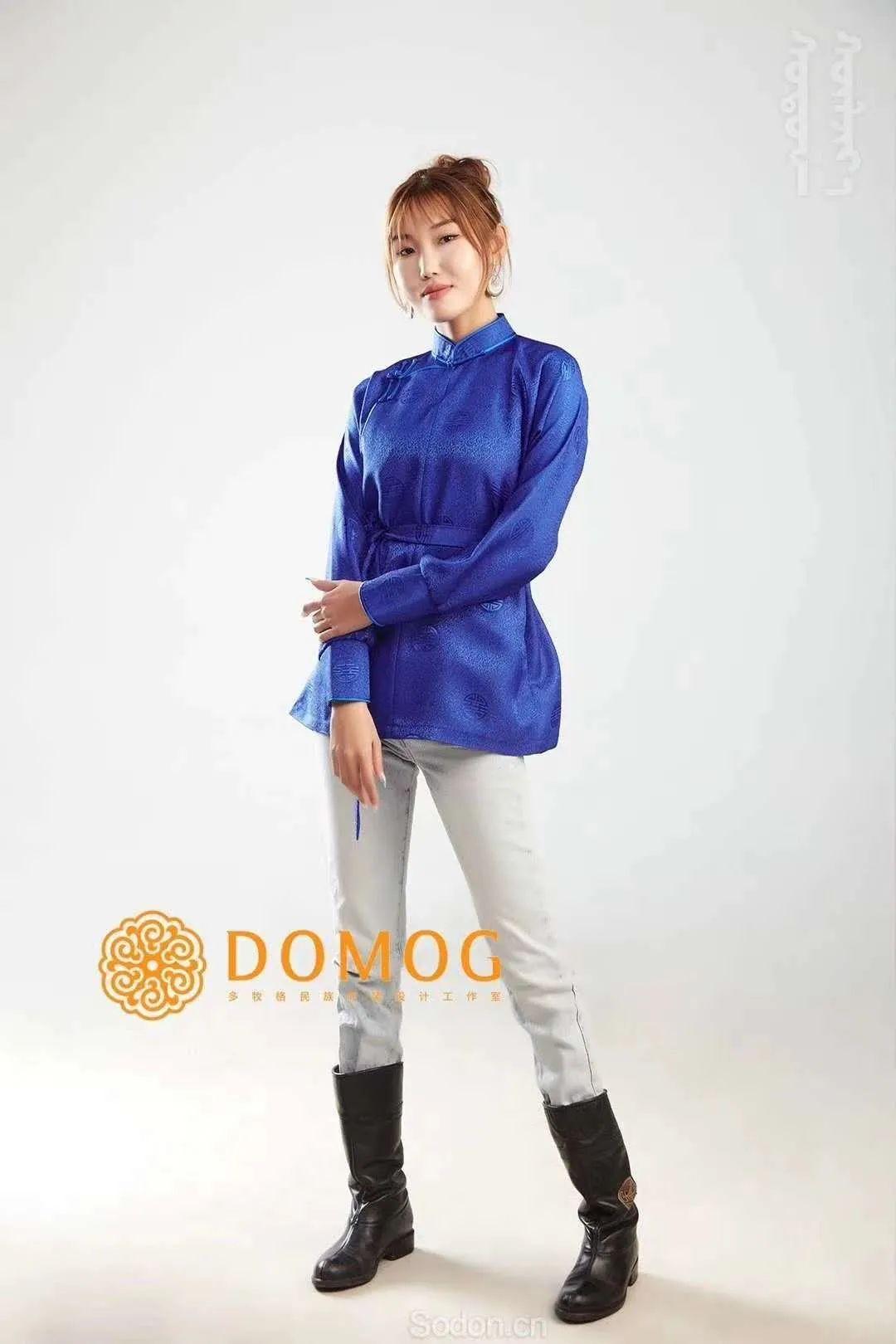 DOMOG 蒙古时装2020新款,民族与时尚的融合 第35张 DOMOG 蒙古时装2020新款,民族与时尚的融合 蒙古服饰