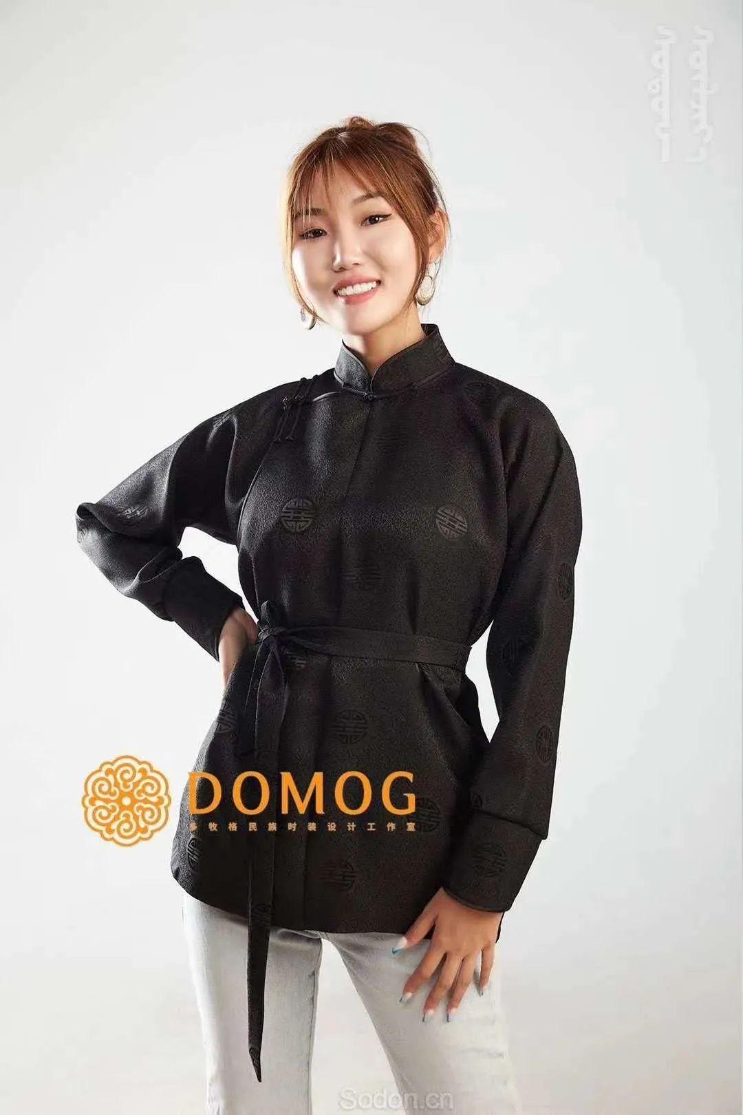 DOMOG 蒙古时装2020新款,民族与时尚的融合 第36张 DOMOG 蒙古时装2020新款,民族与时尚的融合 蒙古服饰