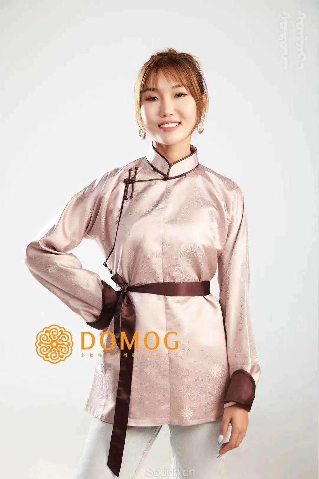 DOMOG 蒙古时装2020新款,民族与时尚的融合 第37张 DOMOG 蒙古时装2020新款,民族与时尚的融合 蒙古服饰
