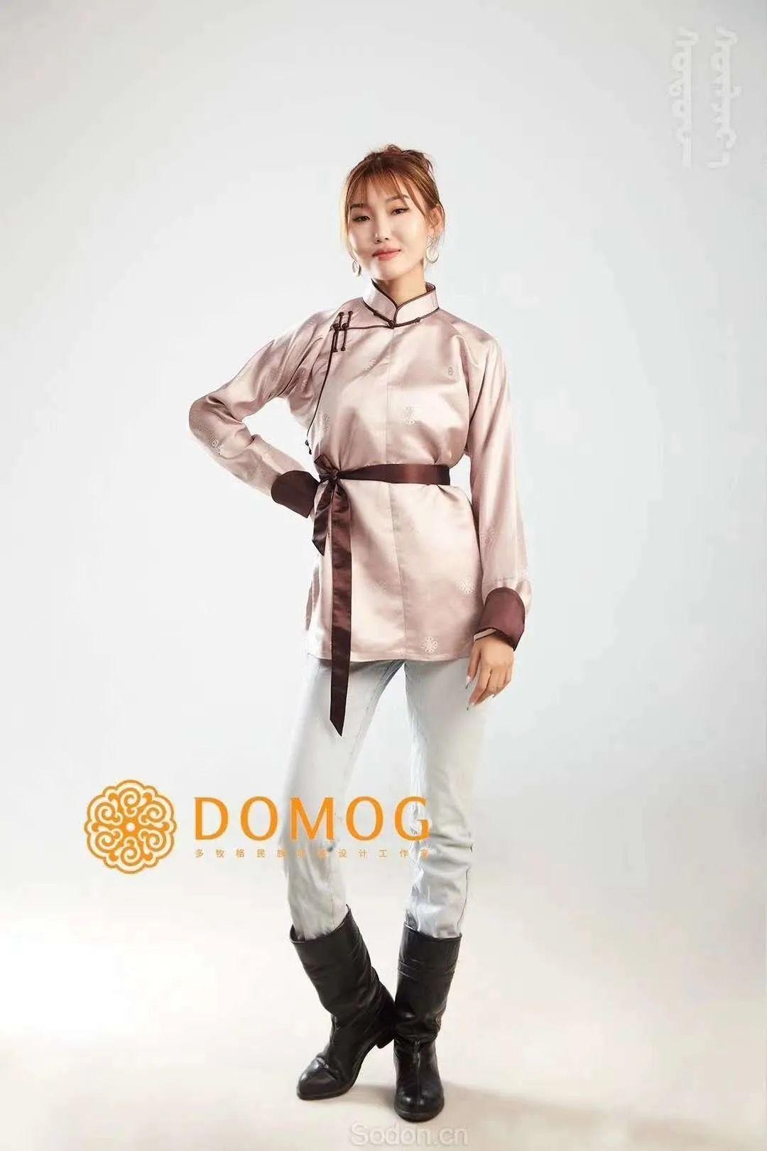 DOMOG 蒙古时装2020新款,民族与时尚的融合 第38张 DOMOG 蒙古时装2020新款,民族与时尚的融合 蒙古服饰