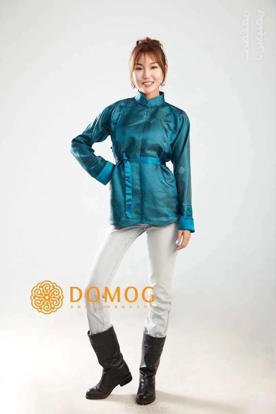 DOMOG 蒙古时装2020新款,民族与时尚的融合 第41张 DOMOG 蒙古时装2020新款,民族与时尚的融合 蒙古服饰