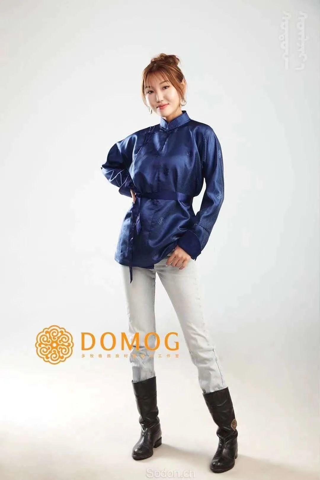 DOMOG 蒙古时装2020新款,民族与时尚的融合 第40张 DOMOG 蒙古时装2020新款,民族与时尚的融合 蒙古服饰