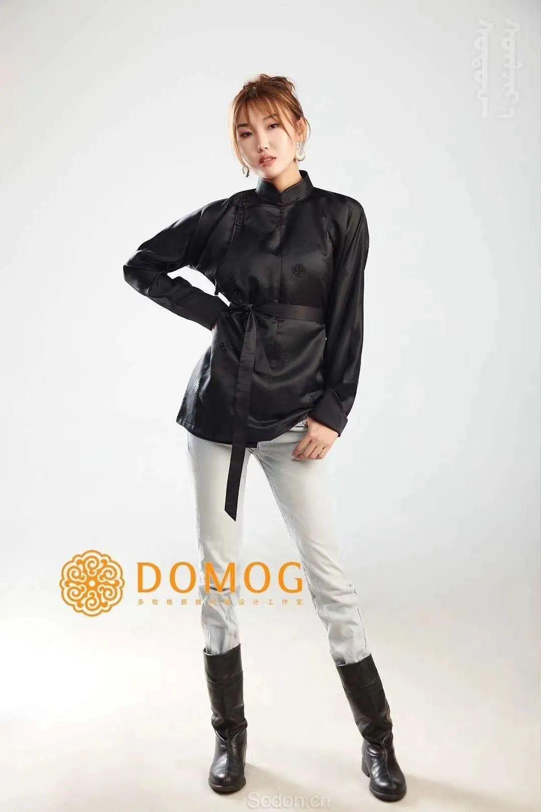DOMOG 蒙古时装2020新款,民族与时尚的融合 第43张 DOMOG 蒙古时装2020新款,民族与时尚的融合 蒙古服饰