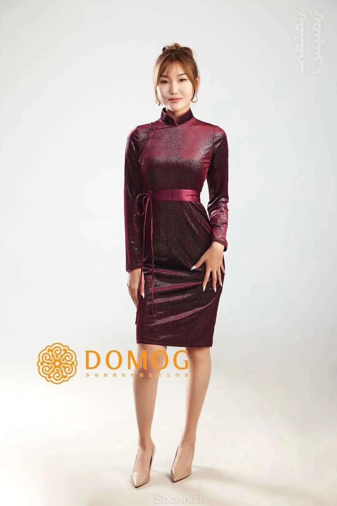 DOMOG 蒙古时装2020新款,民族与时尚的融合 第47张 DOMOG 蒙古时装2020新款,民族与时尚的融合 蒙古服饰