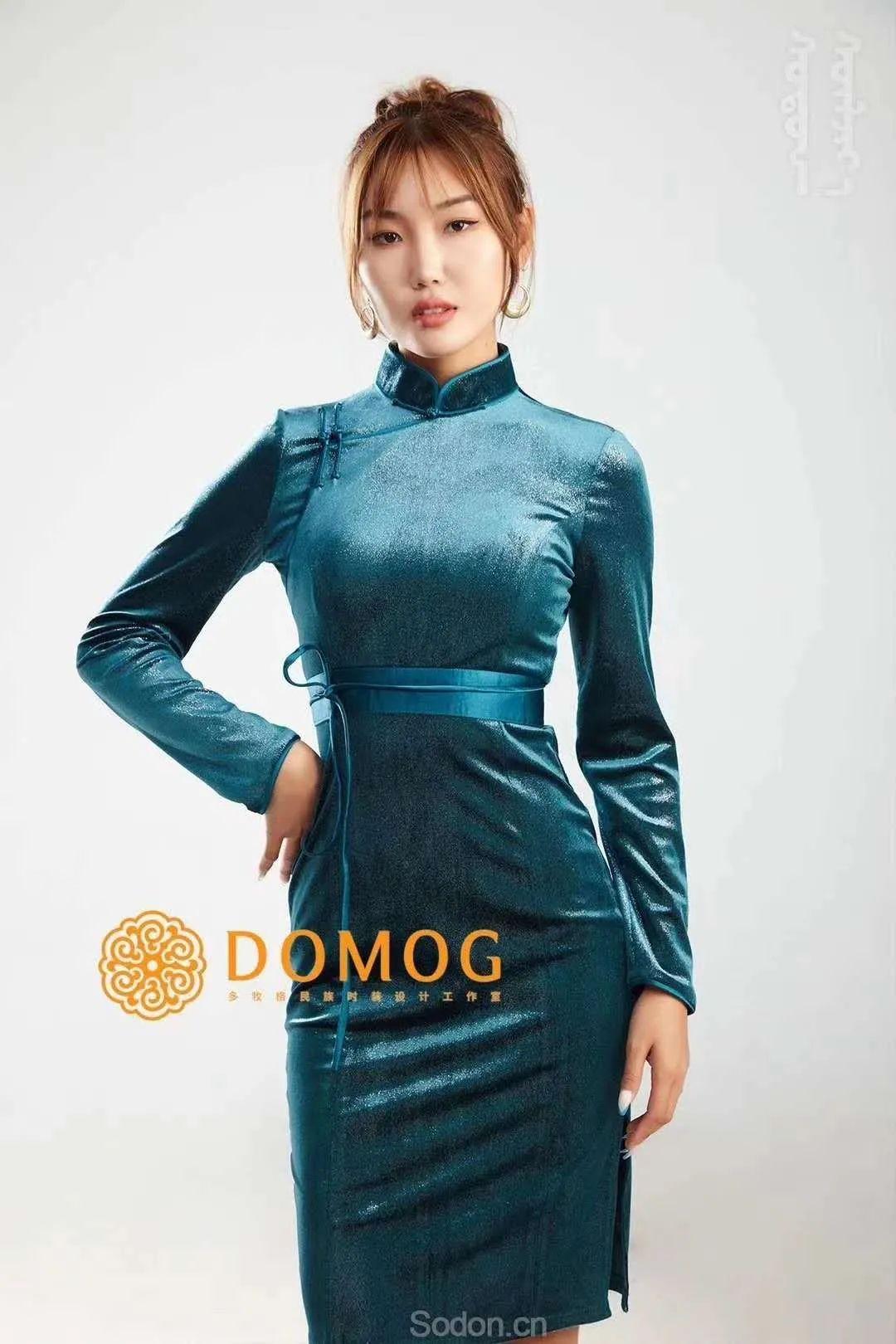 DOMOG 蒙古时装2020新款,民族与时尚的融合 第48张 DOMOG 蒙古时装2020新款,民族与时尚的融合 蒙古服饰