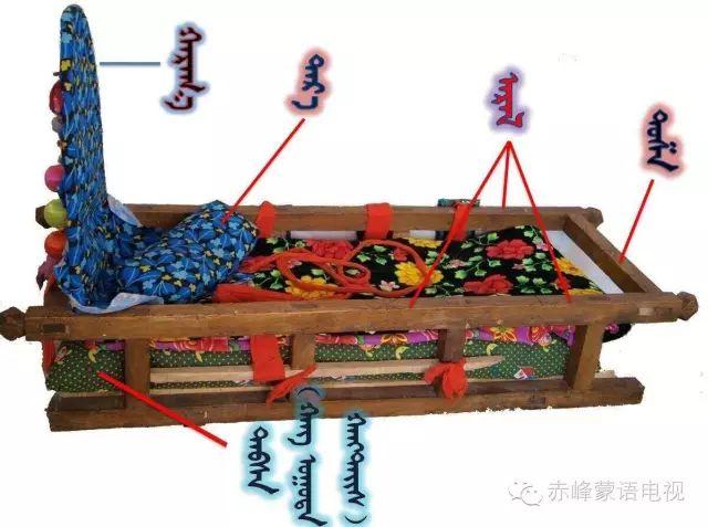 蒙古族关于摇篮的习俗 第5张 蒙古族关于摇篮的习俗 蒙古文库