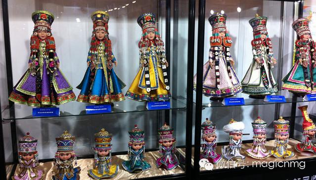 """蒙古族新娘""""芭比娃娃"""" 第1张 蒙古族新娘""""芭比娃娃"""" 蒙古工艺"""