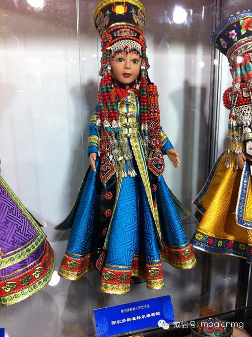 """蒙古族新娘""""芭比娃娃"""" 第4张 蒙古族新娘""""芭比娃娃"""" 蒙古工艺"""