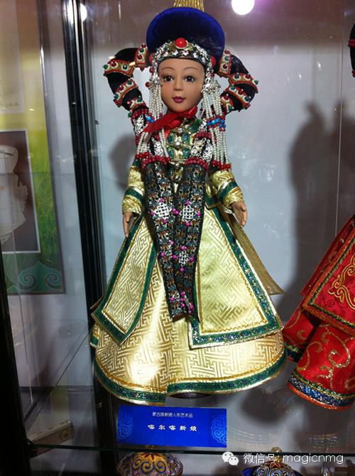 """蒙古族新娘""""芭比娃娃"""" 第11张 蒙古族新娘""""芭比娃娃"""" 蒙古工艺"""