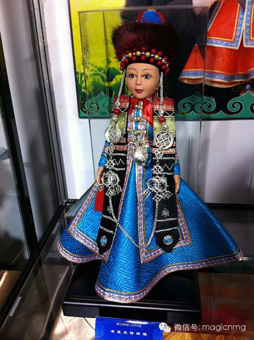 """蒙古族新娘""""芭比娃娃"""" 第13张 蒙古族新娘""""芭比娃娃"""" 蒙古工艺"""