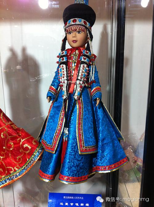 """蒙古族新娘""""芭比娃娃"""" 第14张 蒙古族新娘""""芭比娃娃"""" 蒙古工艺"""