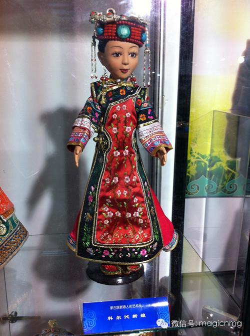 """蒙古族新娘""""芭比娃娃"""" 第15张 蒙古族新娘""""芭比娃娃"""" 蒙古工艺"""