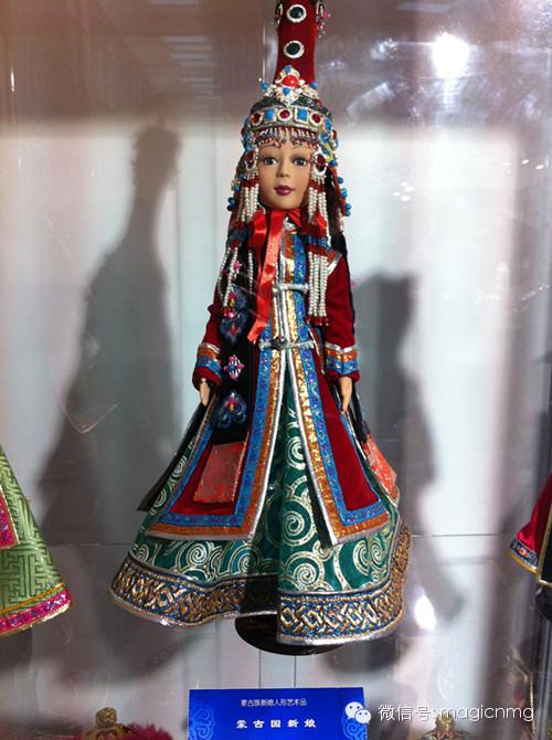 """蒙古族新娘""""芭比娃娃"""" 第16张 蒙古族新娘""""芭比娃娃"""" 蒙古工艺"""