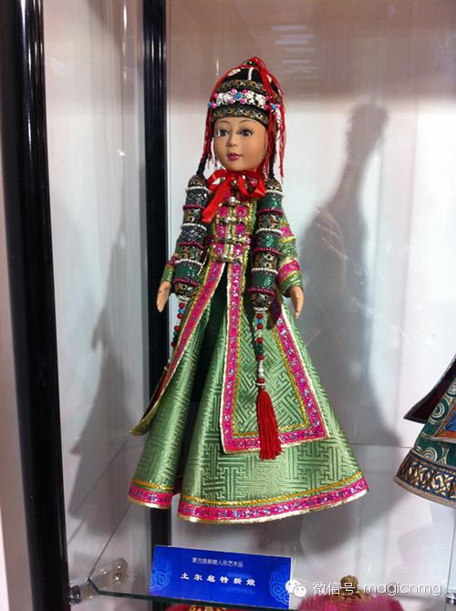 """蒙古族新娘""""芭比娃娃"""" 第17张 蒙古族新娘""""芭比娃娃"""" 蒙古工艺"""