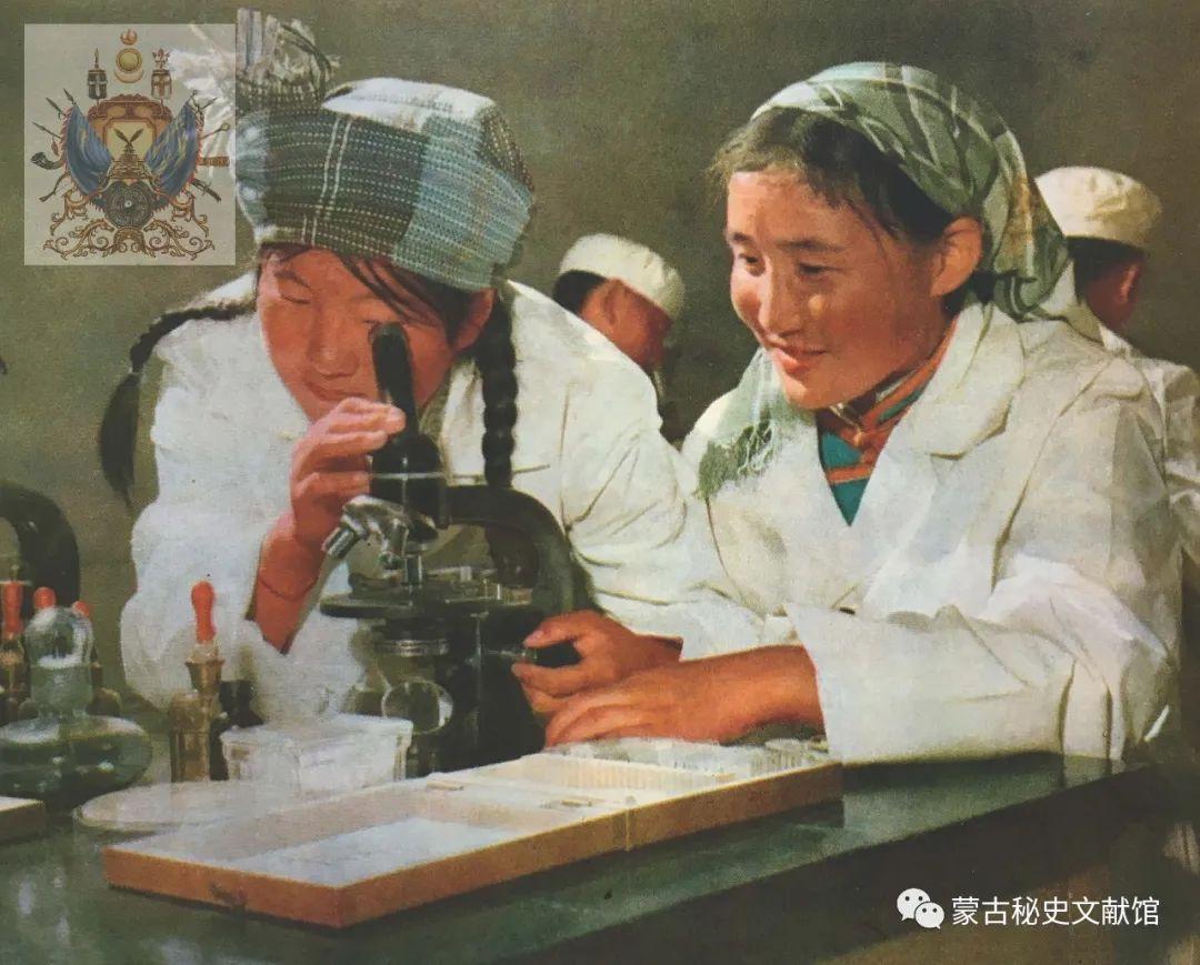 内蒙古教育自治区成立30年画册 第38张 内蒙古教育自治区成立30年画册 蒙古文化