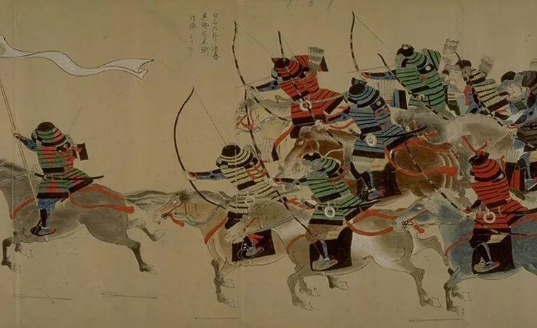 日本传世名画《蒙古袭来绘词》 第3张 日本传世名画《蒙古袭来绘词》 蒙古文化