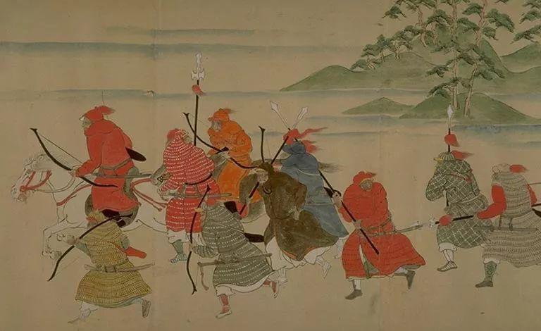 日本传世名画《蒙古袭来绘词》 第2张 日本传世名画《蒙古袭来绘词》 蒙古文化
