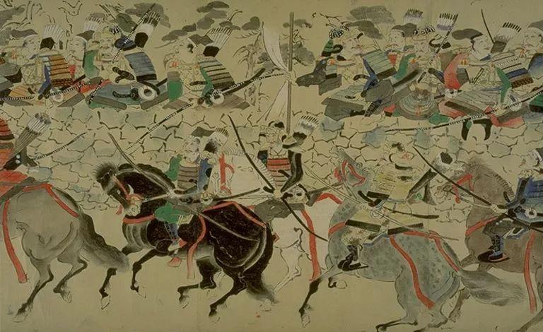 日本传世名画《蒙古袭来绘词》 第5张 日本传世名画《蒙古袭来绘词》 蒙古文化